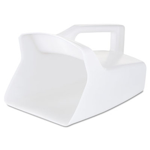 Rubbermaid Commercial Bouncer Bar Utility Scoop  64oz  White (RCP 2885 WHI)