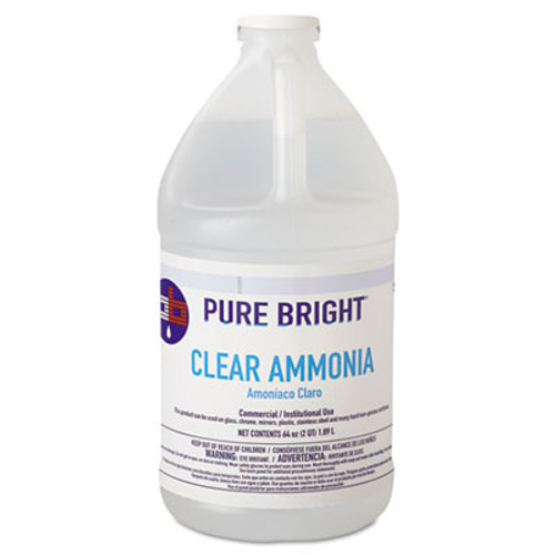 Pure Bright Clear Ammonia  64oz Bottle  8 Carton (KIK 19703575033)