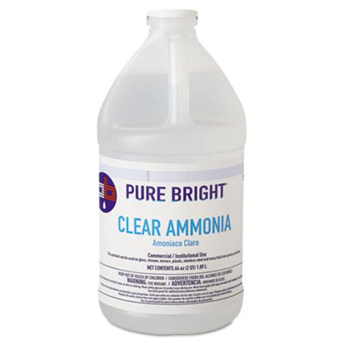 Pure Bright Clear Ammonia  64oz Bottle  8 Carton (KIK 19703575033)