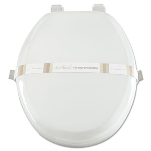 AmerCareRoyal Toilet Seat Bands  Brown White  Paper  2000 Carton (RPP RHM3)
