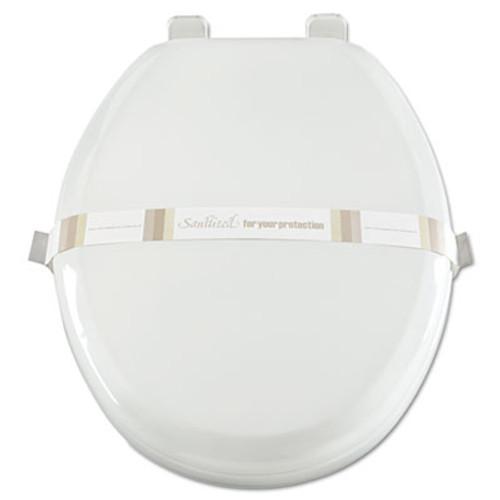 AmerCareRoyal Toilet Seat Bands  Brown White  Paper  2000 Carton (RPP RHM3)