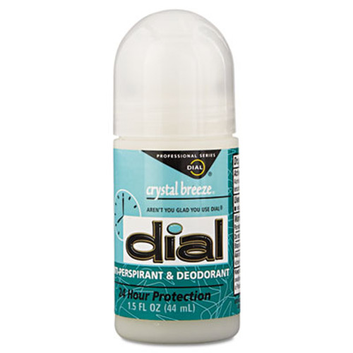 Dial Anti-Perspirant Deodorant  Crystal Breeze  1 5oz  Roll-On  48 Carton (DIA 07686)