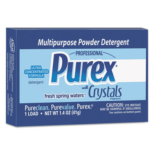 Purex Ultra Concentrated Powder Detergent, 1.4oz Box, Vend Pack, 156/Carton (DIA 10245)
