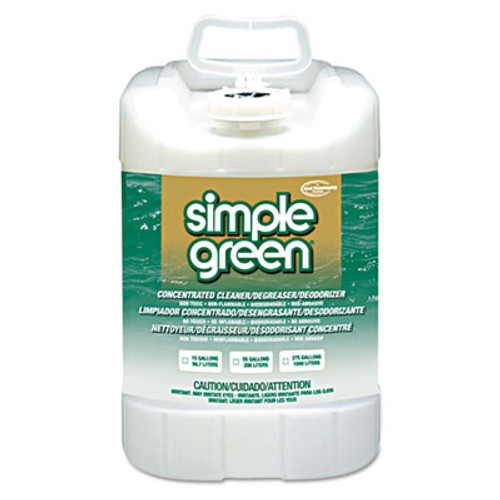 Simple Green Industrial Cleaner and Degreaser  Concentrated  5 gal  Pail (SMP 13006)