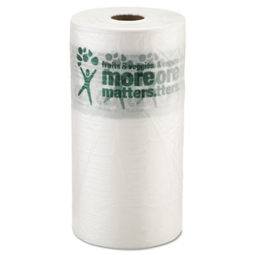 Inteplast Group Produce Bags  9 microns  10  x 15   Clear  1400 Roll  4 Rolls Carton (IBS PHMORE15NS)