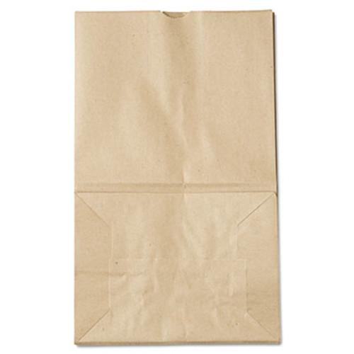 General Grocery Paper Bags  40 lbs Capacity   20 Squat  8 25 w x 5 94 d x 13 38 h  Kraft  500 Bags (BAG GK20S-500)