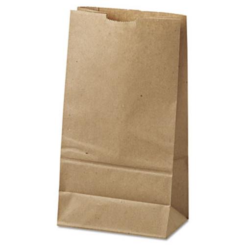 General Grocery Paper Bags  35 lbs Capacity   6  6 w x 3 63 d x 11 06 h  Kraft  500 Bags (BAG GK6-500)
