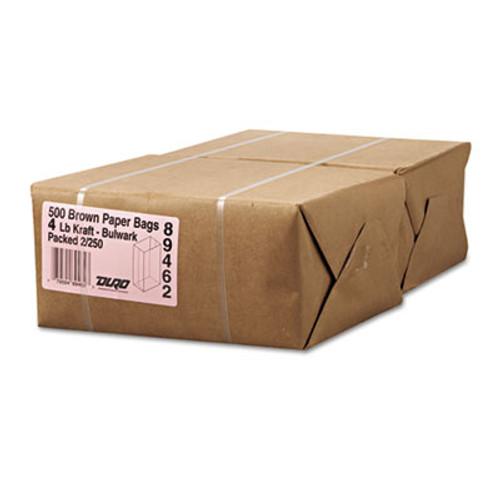 General Grocery Paper Bags  50 lbs Capacity   4  5 w x 3 13 d x 9 75 h  Kraft  500 Bags (BAG GX4-500)