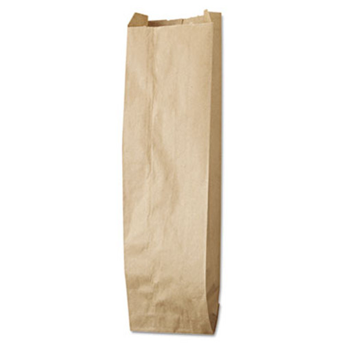 General Liquor-Takeout Quart-Sized Paper Bags  35 lbs Capacity  Quart  4 25 w x 2 5 d x 16 h  Kraft  500 Bags (BAG LQQUART-500)