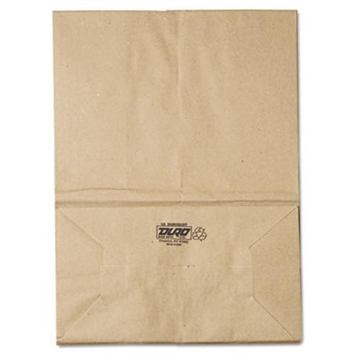 General Grocery Paper Bags  57 lbs Capacity  1 6 BBL  12 w x 7 d x 17 h  Kraft  500 Bags (BAG SK1657)