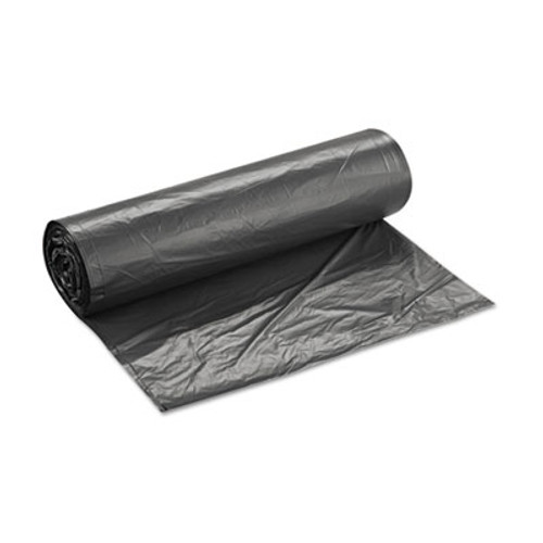 Inteplast Group High-Density Interleaved Commercial Can Liners  60 gal  16 microns  43  x 48   Black  200 Carton (IBS S434816K)