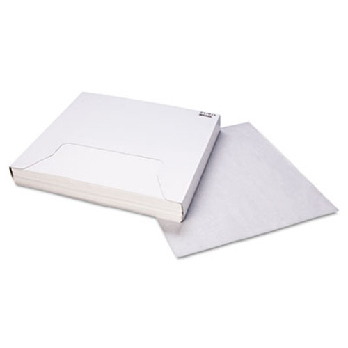 Bagcraft Grease-Resistant Paper Wraps and Liners  15 x 16  White  1000 Box  3 Boxes Carton (BGC 057015)