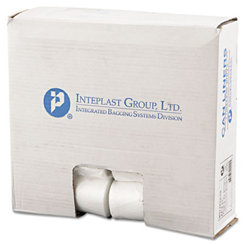 Inteplast Group Low-Density Commercial Can Liners  16 gal  0 35 mil  24  x 33   Clear  1 000 Carton (IBS SL2433LTN)