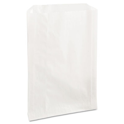 Bagcraft Grease-Resistant Single-Serve Bags  6 5  x 8   White  2 000 Carton (BGC 300422)