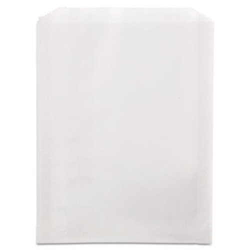 Bagcraft Grease-Resistant Single-Serve Bags  6 5  x 8   White  2 000 Carton (BGC 300422)