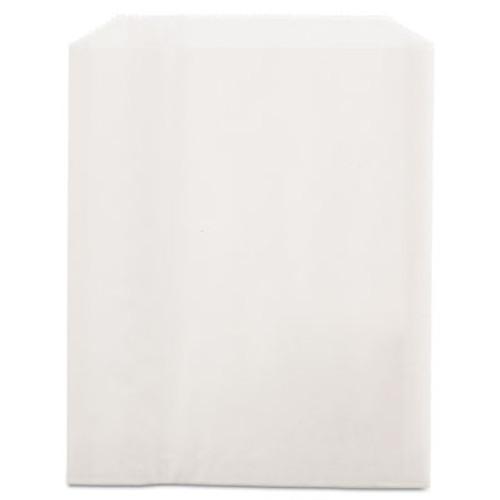 Bagcraft Grease-Resistant Single-Serve Bags  6  x 7 25   White  2 000 Carton (BGC 450019)
