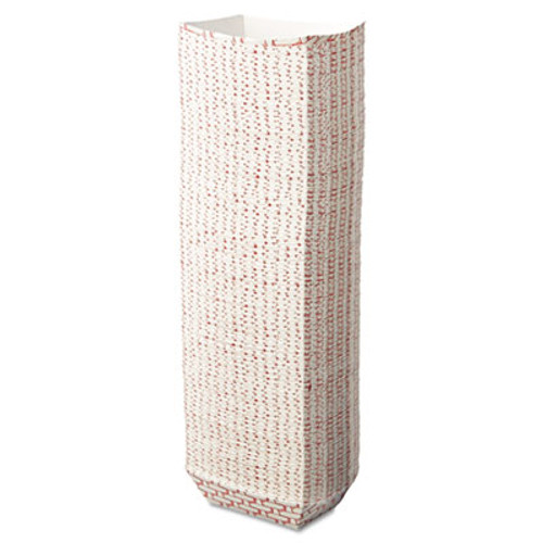 BoardwalkA Paper Food Baskets, 1/4 lb Capacity, Red/White, 1000/Carton (BWK 30LAG025)