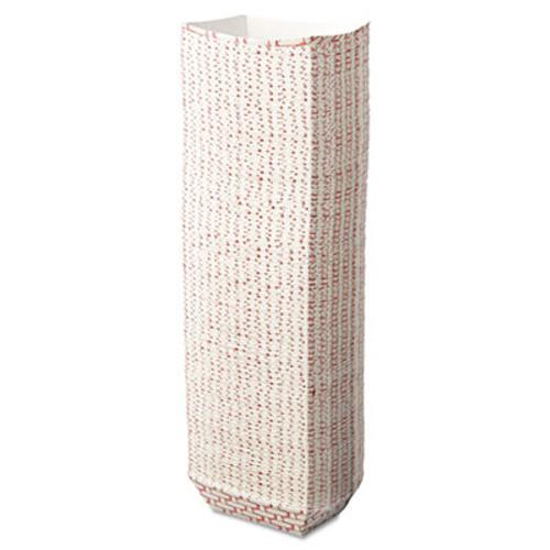 Boardwalk Paper Food Baskets  1 4 lb Capacity  Red White  1000 Carton (BWK 30LAG025)