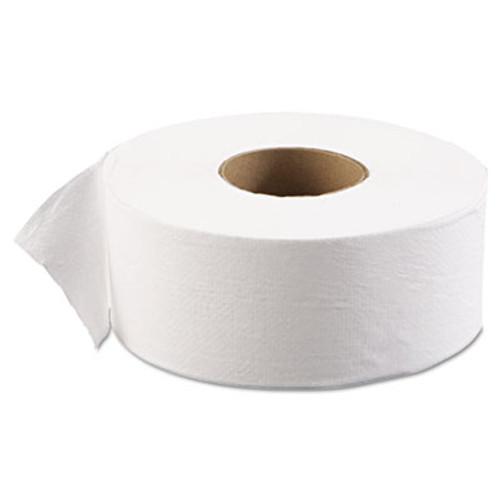 Boardwalk JRT Jr  Bath Tissue  Jumbo  Septic Safe  1-Ply  White  3 1 2  x 2000 ft  12 Carton (BWK 6101)