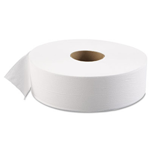 Boardwalk JRT Bath Tissue  Jumbo  Septic Safe  1-Ply  White  3 5 8  x 4000 ft  6 Carton (BWK 6103)