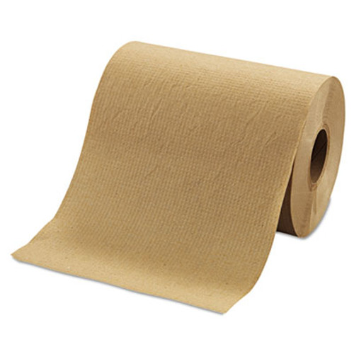 "Morcon Paper Hardwound Roll Towels, 8"" x 350ft, Brown, 12 Rolls/Carton (MOR R12350)"