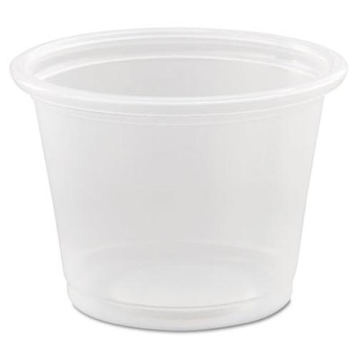 Dart Conex Complements Portion/Medicine Cups, 1oz, Clear, 125/Bag, 20 Bags/Carton (DCC 100PC)