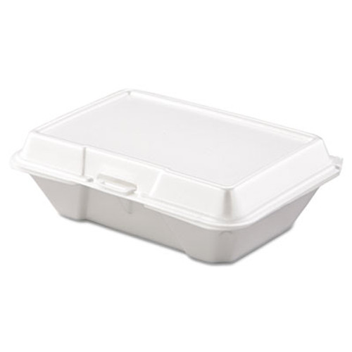 Dart Carryout Food Container, Foam, 1-Comp, 9 3/10 x 6 2/5 x 2 9/10, 200/Carton (DCC 205HT1)