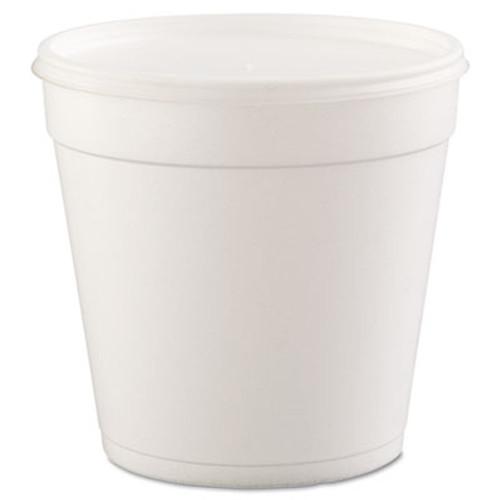 Dart Foam Containers  32oz  White  25 Bag  20 Bags Carton (DCC 32MJ48)