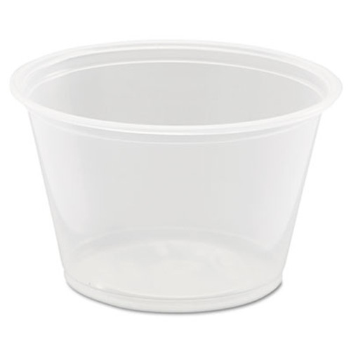 Dart Conex Complements Portion/Medicine Cups, 4oz, Clear, 125/Bag, 20 Bags/Carton (DCC 400PC)