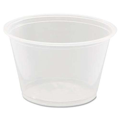Dart Conex Complements Portion Medicine Cups  4oz  Clear  125 Bag  20 Bags Carton (DCC 400PC)