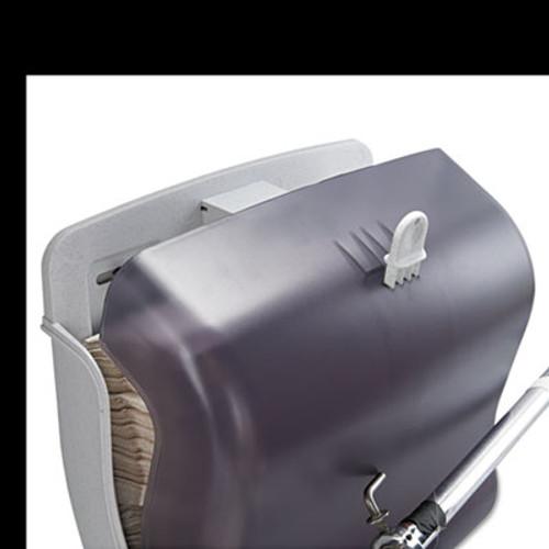 San Jamar Ultrafold Towel Dispenser  11 1 2w x 6d x 11 1 2h  Black Pearl (SAN T1750TBKRD)