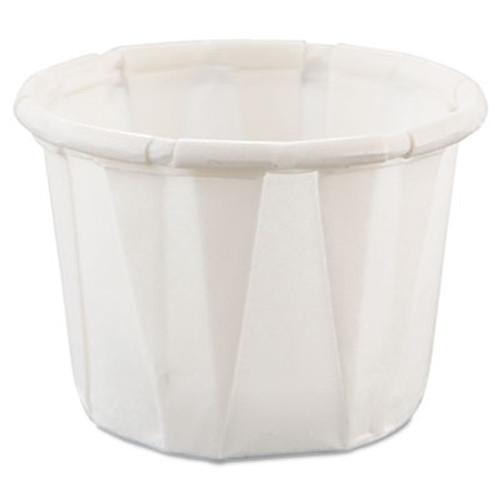 Dart Paper Portion Cups   5oz  White  250 Bag  20 Bags Carton (SCC 050)
