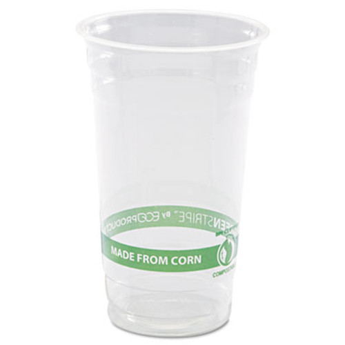 Eco-Products GreenStripe Renewable   Compostable Cold Cups - 24oz   50 PK  20 PK CT (ECP EP-CC24-GS)