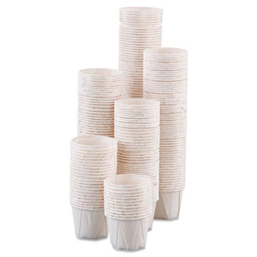 Dart Paper Portion Cups  1oz  White  250 Bag  20 Bags Carton (SCC 100)