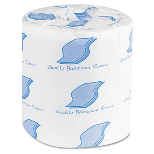 GEN Bath Tissue  Septic Safe  2-Ply  White  500 Sheets Roll  96 Rolls Carton (GEN 500)