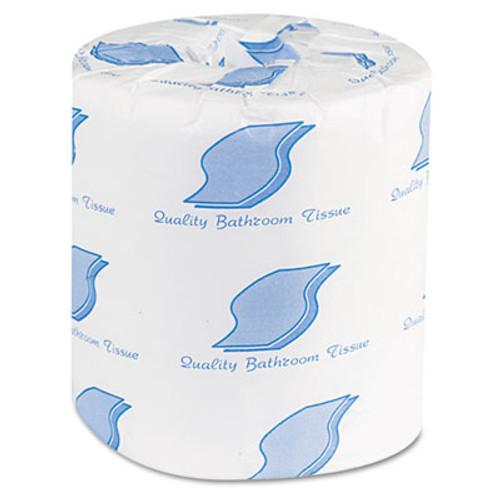 GEN Bath Tissue  Septic Safe  2-Ply  White  500 Sheets Roll  96 Rolls Carton (GEN 500)