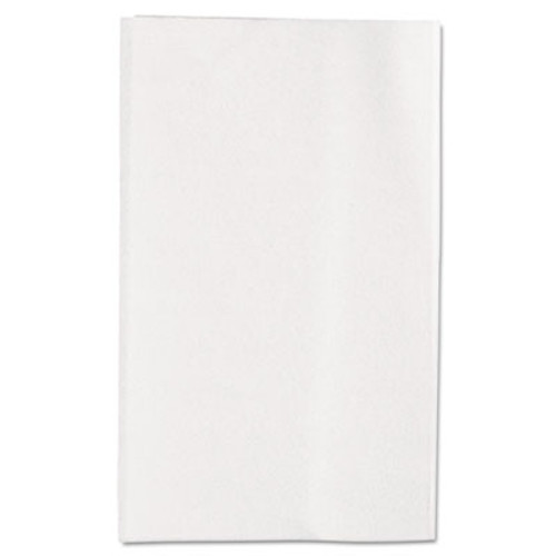 Georgia Pacific Professional Singlefold Interfolded Bathroom Tissue  Septic Safe  1-Ply  White  400 Sheets Pack  60 Packs Carton (GPC 101-01)