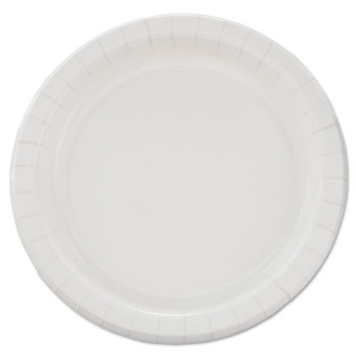"SOLO Cup Company Bare Eco-Forward Clay-Coated Paper Dinnerware, Plate, 8 1/2"" dia, 500/Carton (SCC MP9B)"