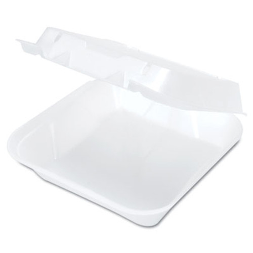 Genpak Snap It Foam Container  8 1 4 x 8 x 3  White  100 Bag  2 Bags Carton (GNP SN240)