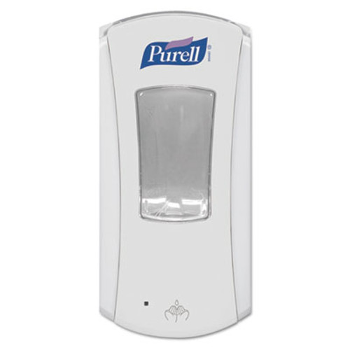 PURELL LTX-12 Touch-Free Dispenser  1200 mL  5 75  x 4  x 10 5   White (GOJ 1920-04)