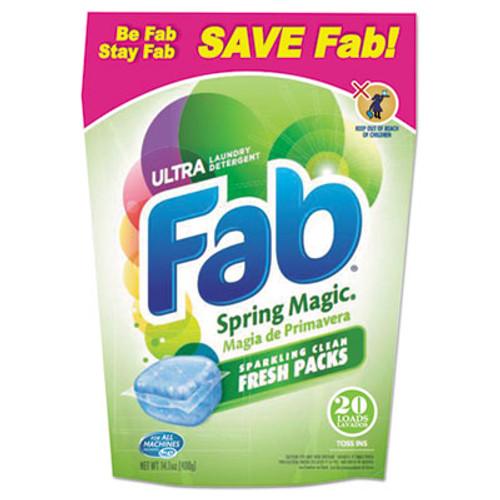 Fab Toss Ins, 20/Pack, 4 Packs/Carton (PBC 37737)