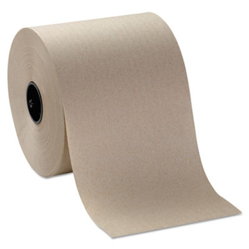 Georgia Pacific Professional Hardwound Roll Paper Towels, 7 4/5 x 1000ft, Brown, 6 Rolls/Carton (GPC 269-20)