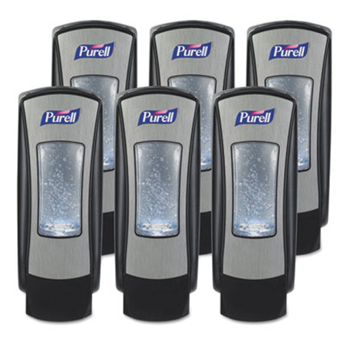 PURELL ADX-12 Dispenser  1200 mL  4 5  x 4  x 11 25   Chrome Black (GOJ 8828-06)