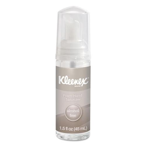 Kleenex Alcohol-Free Foam Hand Sanitizer  1 5 oz  Clear  24 Carton (KCC 34136)