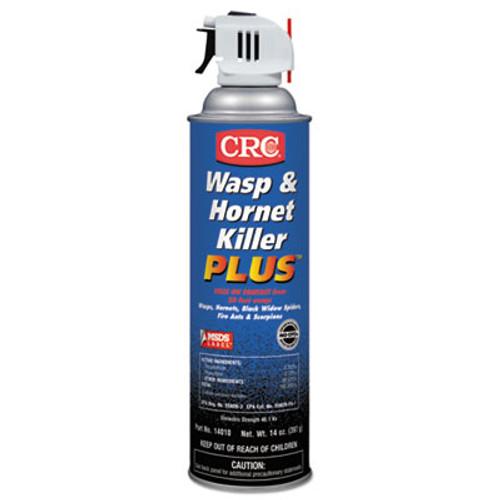 CRC Wasp   Hornet Killer Plus Insecticide  14 oz Aerosol Can  12 Carton (CRI 14010)