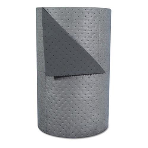 SPC High-Traffic Series Sorbent-Pad Roll  63gal  30  x 300ft  Gray  100 Pack (SBD HT303)