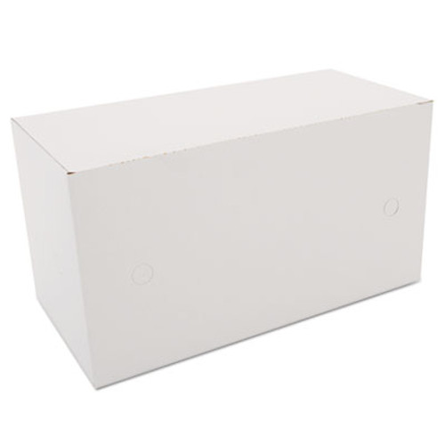 SCT Sausage and Meat-Patty Boxes, 1-Compartment, 10 x 5 x 5 3/8, White, 200/Bundle (SCH 2745)