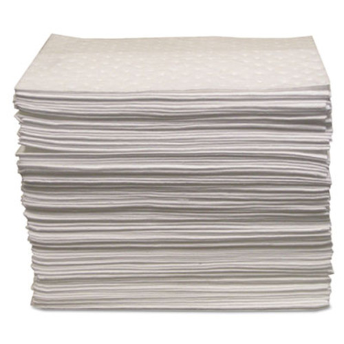 "Anchor Brand Oil Only Sorbent Pad 15""x17"", Heavy-Weight (ANRABBPO100)"