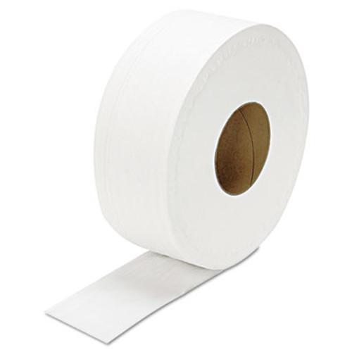 GEN JRT Jumbo Bath Tissue  Septic Safe  2-Ply  White  3 3  x 1000 ft  12 Carton (GEN JRT1000)