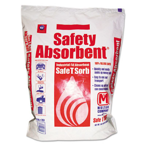 Safe T Sorb All-Purpose Clay Absorbent  50lb  Poly-Bag  40 Pallet (MOL 7951)